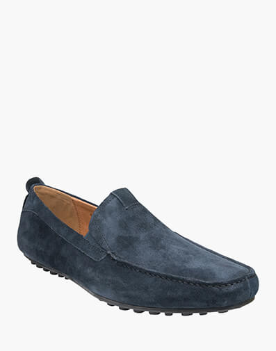 Corona MOC TOE VENETIAN DRIVER in DARK NAVY for $169.95